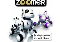 Zoomer désigne un chien robot conçu pour les enfants à partir de 5 ans